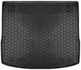 Резиновый коврик в багажник FORD Focus 2011-  универсал AvtoGumm