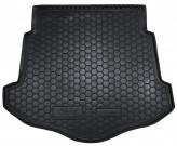 AvtoGumm Резиновый коврик в багажник Ford Mondeo 2007-2014 Лифтбэк (С ДОКАТКОЙ)