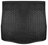 AvtoGumm Резиновый коврик в багажник FORD Mondeo 2007-2014 sedan (запаска полноразмерная)