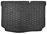 AvtoGumm Резиновый коврик в багажник Ford Fiesta 2017-