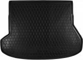 Резиновый коврик в багажник KIA Cee'd 2012- (универсал) AvtoGumm