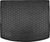 AvtoGumm Резиновый коврик в багажник MAZDA 3 2013- (хетчбэк)