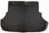 Резиновый коврик в багажник MITSUBISHI Lancer X 2007- sedan AvtoGumm