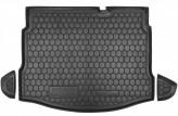 AvtoGumm Резиновый коврик в багажник NISSAN Qashqai 2010-2014 (с докаткой)