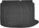 AvtoGumm Резиновый коврик в багажник PEUGEOT 308 2008-2014 (хетчбэк)