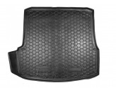 Резиновый коврик в багажник SKODA Octavia A5 2004-2012 (лифтбэк)