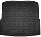 AvtoGumm Резиновый коврик в багажник SKODA Octavia A7 2013- УНИВЕРСАЛ (без ушей)