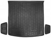 AvtoGumm Резиновый коврик в багажник Skoda Kodiaq с 2017- (5 мест)