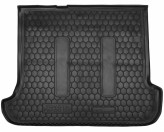 Резиновый коврик в багажник TOYOTA Land Cruiser 120 (Prado) (5-7 мест) AvtoGumm