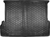 AvtoGumm Резиновый коврик в багажник TOYOTA Land Cruiser 150 (Prado) (7 мест) 2009-2017