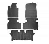 Резиновые коврики KIA Sorento 2015- 7 мест
