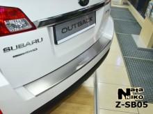 Nataniko Накладка на бампер с загибом Subaru Outback 2009-2015
