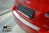Nataniko Накладка на бампер с загибом Toyota Venza FL 2012-2017