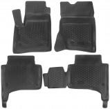 L.Locker Глубокие резиновые коврики в салон Volkswagen Touareg 2002-2010