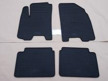 Коврики в салон резиновые на  Mitsubishi Lancer 04- (Клетка)