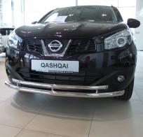 UA Tuning Защита передняя Nissan Qashqai 2006-2014 (труба двойная d 60/42)