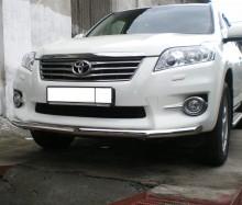 Защита передняя Toyota RAV4 2006-2012 (труба одинарная d 60)