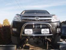 UA Tuning Защита передняя Great Wall Hover 2005-2010 (кенгурятник d 60)