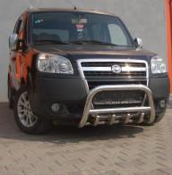 Защита передняя Fiat Doblo 2001- (кенгурятник d 60) UA Tuning