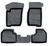 Глубокие резиновые коврики Chevrolet Niva