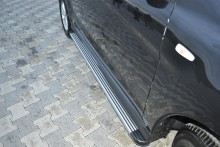 Пороги Honda Pilot (алюминиевый профиль)