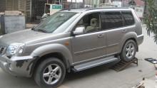 Пороги Nissan X-Trail (T30) 2000-2007 (алюминиевый профиль) UA Tuning