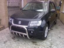 UA Tuning Пороги Suzuki Grand Vitara 3D/5D 2005-2012-  (труба d 60 с листом)
