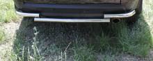 Защита задняя Mitsubishi Outlander 2003-2010 (труба чайка d 60)
