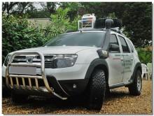 UA Tuning Защита передняя высокая Renault Duster (кенгурятник d 60)