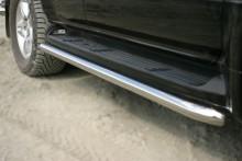 Защита штатного порога Lexus GX 470 (труба d 60) UA Tuning