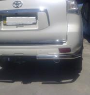 UA Tuning Защита задняя Toyota Land Cruiser Prado 150 2009-2013- (уголки одинарные d 60)