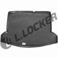 L.Locker Коврик в багажник Suzuki SX4 13- нижний (без полки)