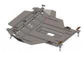 Кольчуга Защита двигателя, коробки передач, радиатора Chery Amulet 2012-