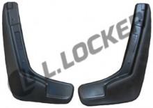 L.Locker Брызговики передние Lada Largus Logan MCV 2004-2013