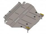 Защита двигателя, коробки передач, частично радиатора Citroen C5 2008-