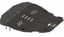 Кольчуга Защита двигателя, коробки передач, радиатора Fiat Scudo 1995-2007