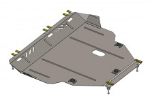 Кольчуга Защита двигателя, коробки передач, радиатора Ford Connect 2013-