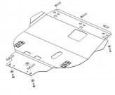 Кольчуга Защита двигателя, коробки передач, радиатора Ford Focus 2004-2011 дизель