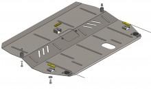 Кольчуга Защита двигателя, коробки передач, радиатора Ford Galaxy 2006-2015