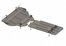 Кольчуга Защита двигателя, коробки передач, радиатора Infiniti FX 30d