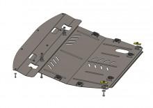 Кольчуга Защита двигателя, коробки передач, радиатора Infiniti JX 35 2012-