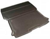 Unidec Резиновый коврик в багажник Citroen Berlingo MF 1996- (грузовой)