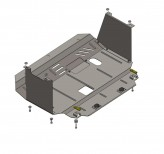 Кольчуга Защита двигателя, коробки передач, радиатора Kia Cerato 2013-