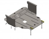 Кольчуга Защита двигателя, коробки передач, радиатора Kia Picanto 2011-