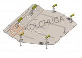 Кольчуга Защита двигателя, коробки передач, радиатора Mitsubishi Lancer 2003-