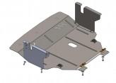 Кольчуга Защита двигателя, коробки передач, радиатора Nissan Primastar V-1,9 D