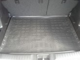 Резиновый коврик в багажник Suzuki Vitara 2014- (нижний) Unidec