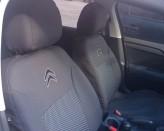 Чехлы на сиденья Citroen C-Elysee (цельная спинка) EMC