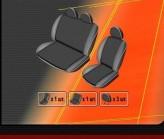 Чехлы на сиденья Fiat Scudo 1995-1999, 2000-2007 (1+2)  EMC