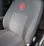 EMC Чехлы на сиденья Fiat Linea (цельная спинка)